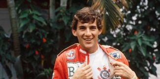 Ayrton Senna in 1984