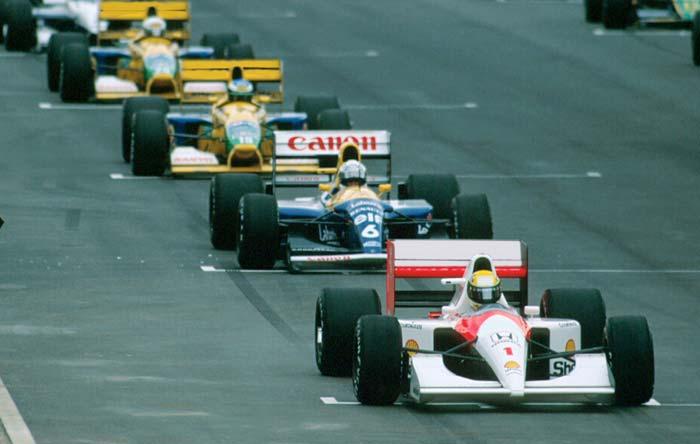 Ayrton Senna in Africa 1992