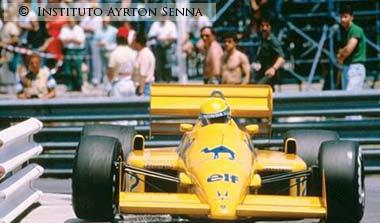 Ayrton Senna-Monaco 1987
