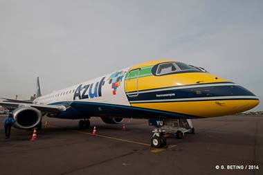 Azul Airlines Senna-Tribute-2014
