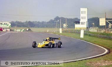 Ayrton Senna in Formula-Ford-2000
