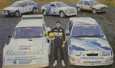 Senna rally-1986