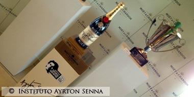 Ayrton Senna Moët-&-Chandon