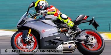 SuperBike Tribute to Ayrton Senna