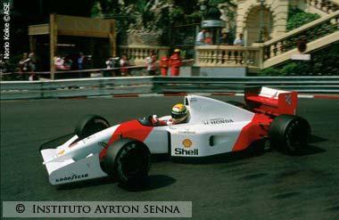 Ayrton Senna_Monaco_1992