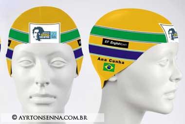Ana Marcela's Tribute-to-Ayrton-Senna