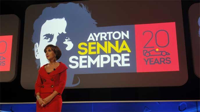 Viviane Senna at Gran Turismo Tribute 2014