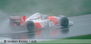 Senna in Donington 1993