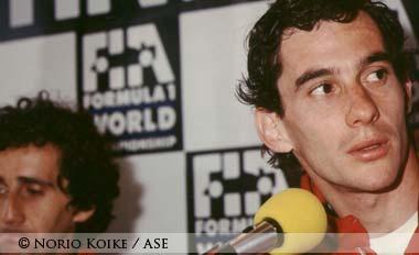 Senna in Mexico 1988