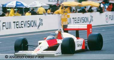 Ayrton Senna 1988 world champion,Suzuka 1988