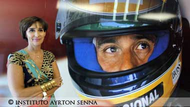Viviane Senna,president of Ayrton Senna Institute