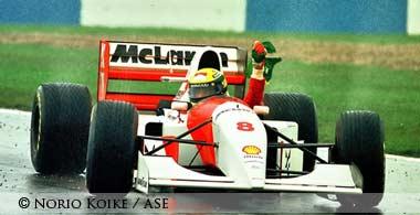 Ayrton Senna Donington 1993