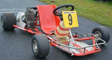 Ayrton Senna's karting