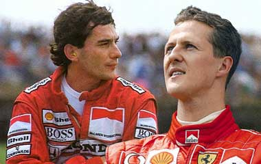 Ayrton Senna vs Michael Schumacher