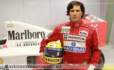 Ayrton Senna Statue