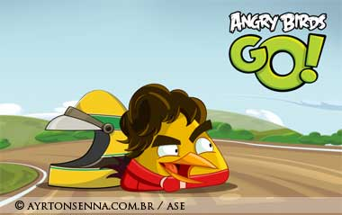 Ayrton Senna Angry Birds GO