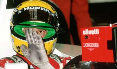 Ayrton Senna Spa Francorchamps 1991