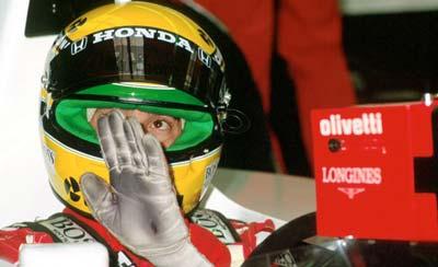 Ayrton Senna Spa 1991