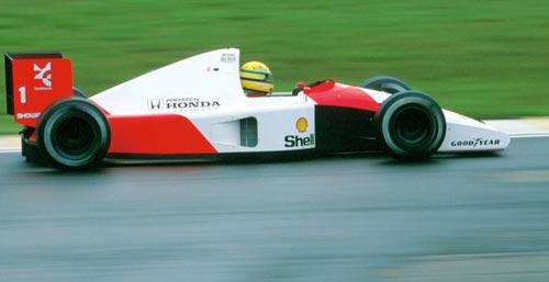 Ayrton Senna at Interlagos 1991