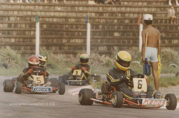 Ayrton-Senna-Karting-years