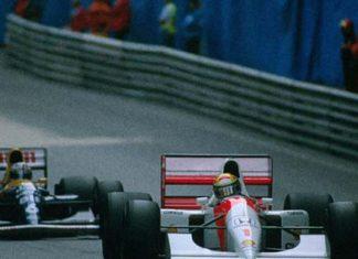 Ayrton Senna Adelaide 1988