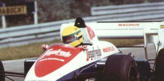 Ayrton Senna in Toleman