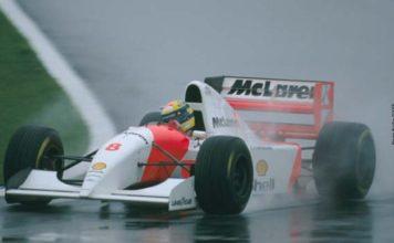 Ayrton Senna in Donington 93