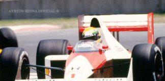 Ayrton Senna Mexican GP 1989