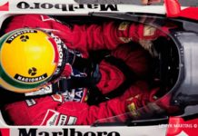 Ayrton Senna in Monaco 1989