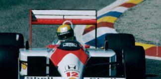 Ayrton Senna in France 1988
