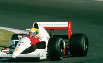 Ayrton Senna Suzuka in 1991