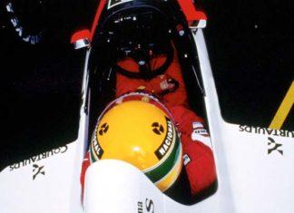 Ayrton Senna in Spa Francorchamps 1989