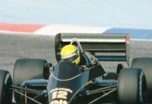 Ayrton Senna in Paul Ricard 1986