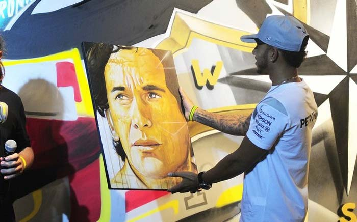 Lewis Hamilton Brazilian Grand Prix 2016