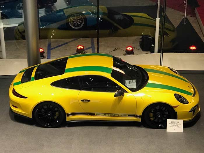 Porsche tribute to Ayrton Senna