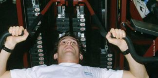 Ayrton Senna in Training