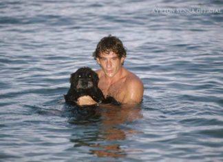 Ayrton Senna in 1993
