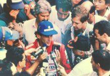 Ayrton Senna in 1990