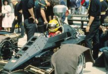 Ayrton Senna in Germany 1985