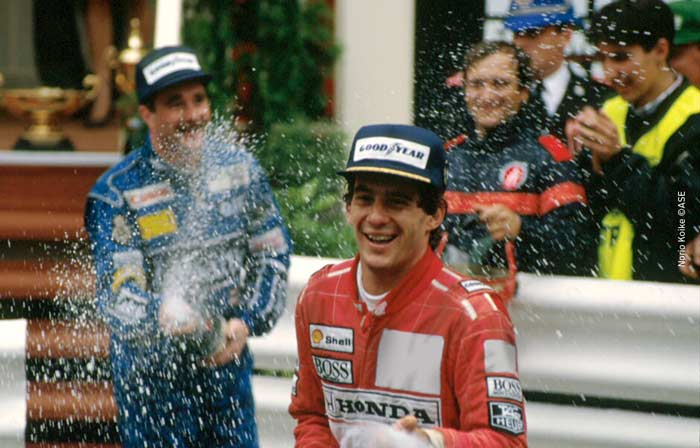 Ayrton Senna at Monaco 1991