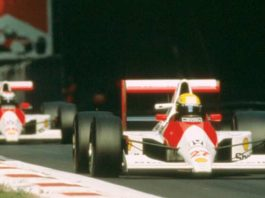 Ayrton Senna in Canada 1990