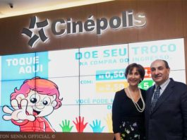 Vivane Senna Cinepolis Brazil