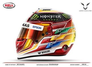 Hamilton Helmet