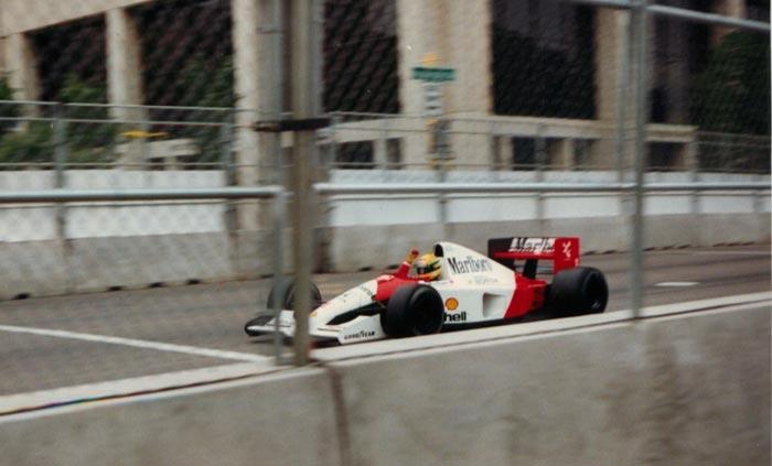Winner of the Phoenix GP 1991