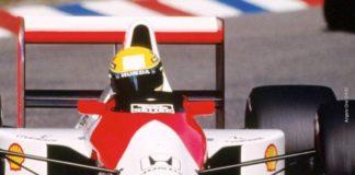 Ayrton Senna at Hockenheim 1990