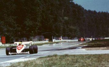 Ayrton Senna in Germany 1984