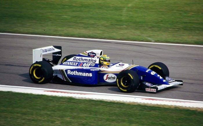 Ayrton Senna in Williams 1994