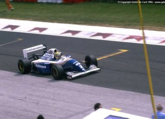Ayrton Senna at Imola 1994