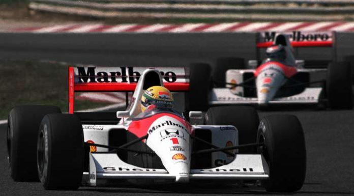 Senna and Berger