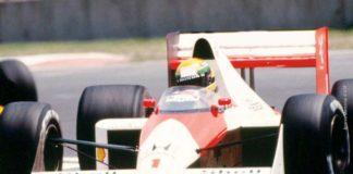 Senna in Mexico in 1989